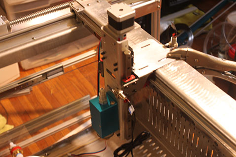 The X-EDM (Electrical Discharge Machine)