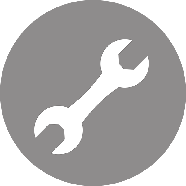 Civic Service Circle wrench icon