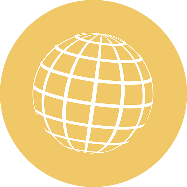 Intercultural Appreciation Circle globe icon