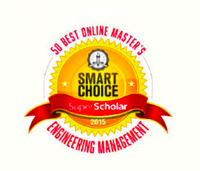 Smart Choice Super Scholar - 50 Best Online Master's Engineering Management