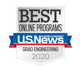 U.S. News & World Reports - Best Online Programs: Grad Engineering 2019
