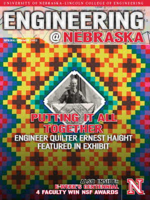 Engineering @ Nebraska Cover Image: 2013 Spring Edition