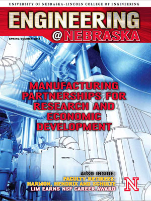 Engineering @ Nebraska Cover Image: 2014 Spring/Summer Edition