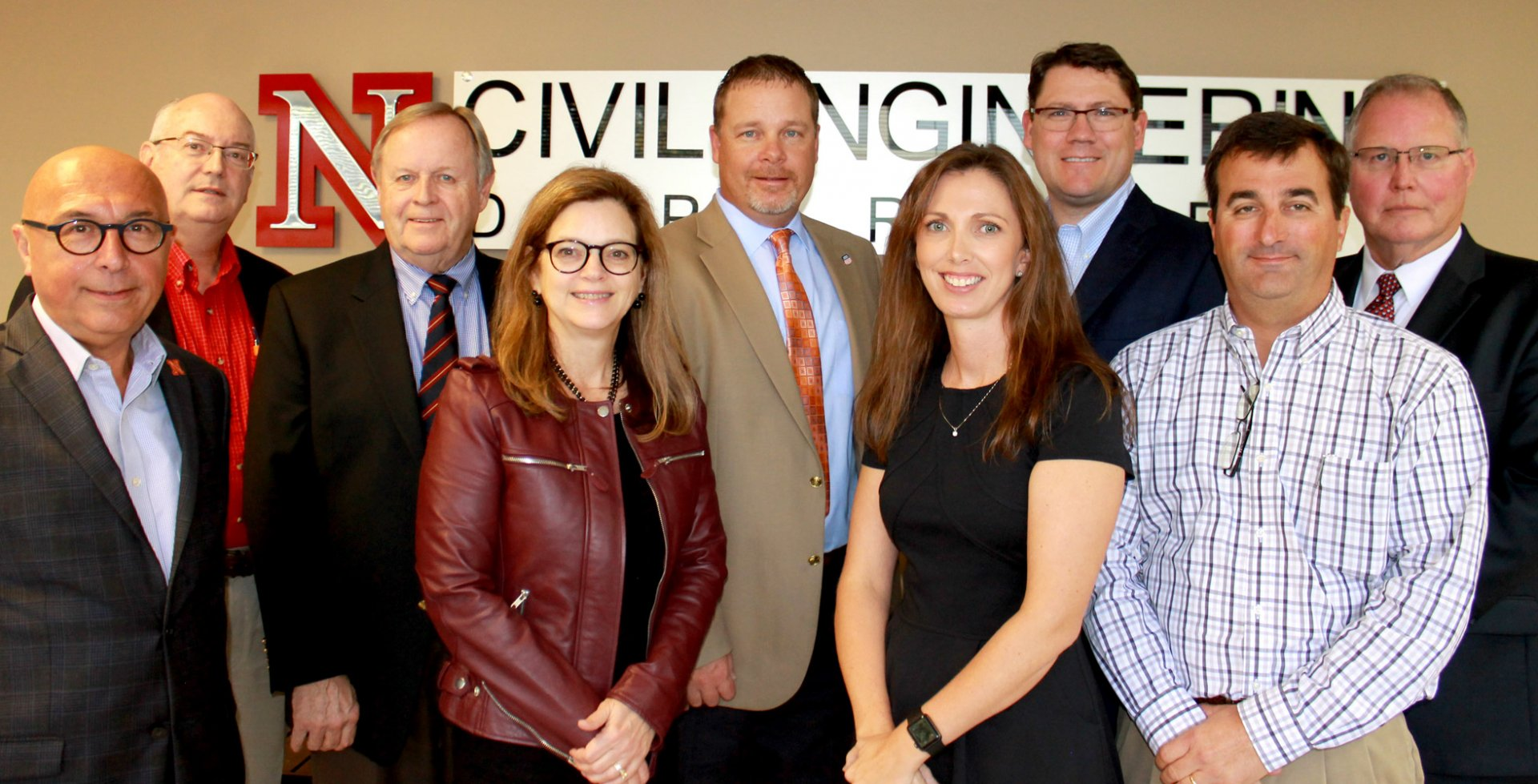 UNL Civil Engineering Advisory Board at the October 2016 meeting