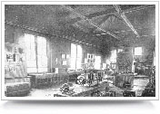 figure 11. The lab in the EE building around 1904.