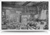 figure 5. Early laboratory in the EE building from 1904.