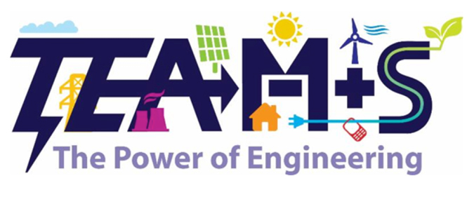 TEAMS Logo - The Power of Engineering