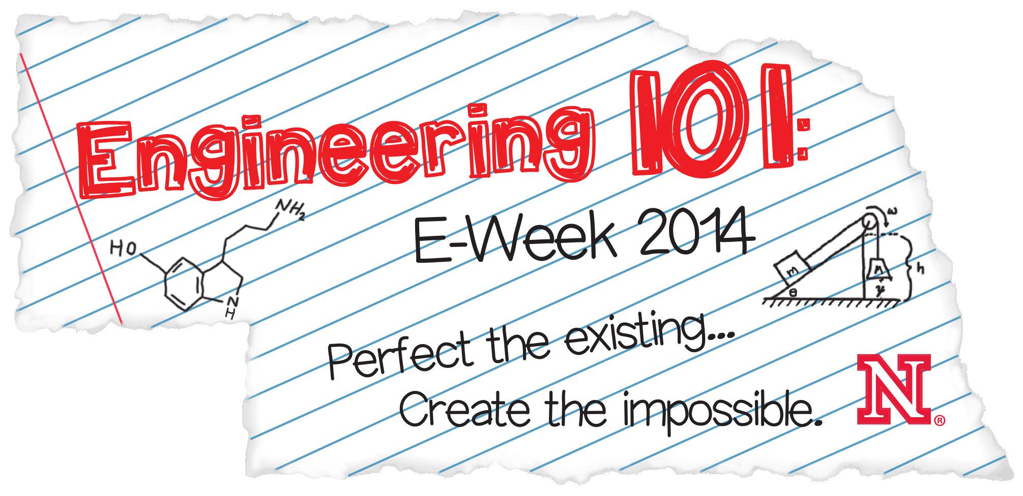 Engineering 101: E-Week 2014 - State of Nebraska image