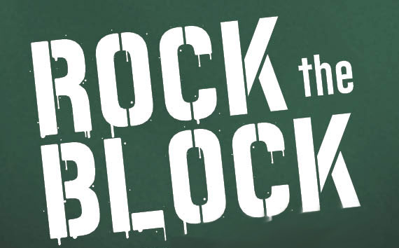 Rock the Block graphic