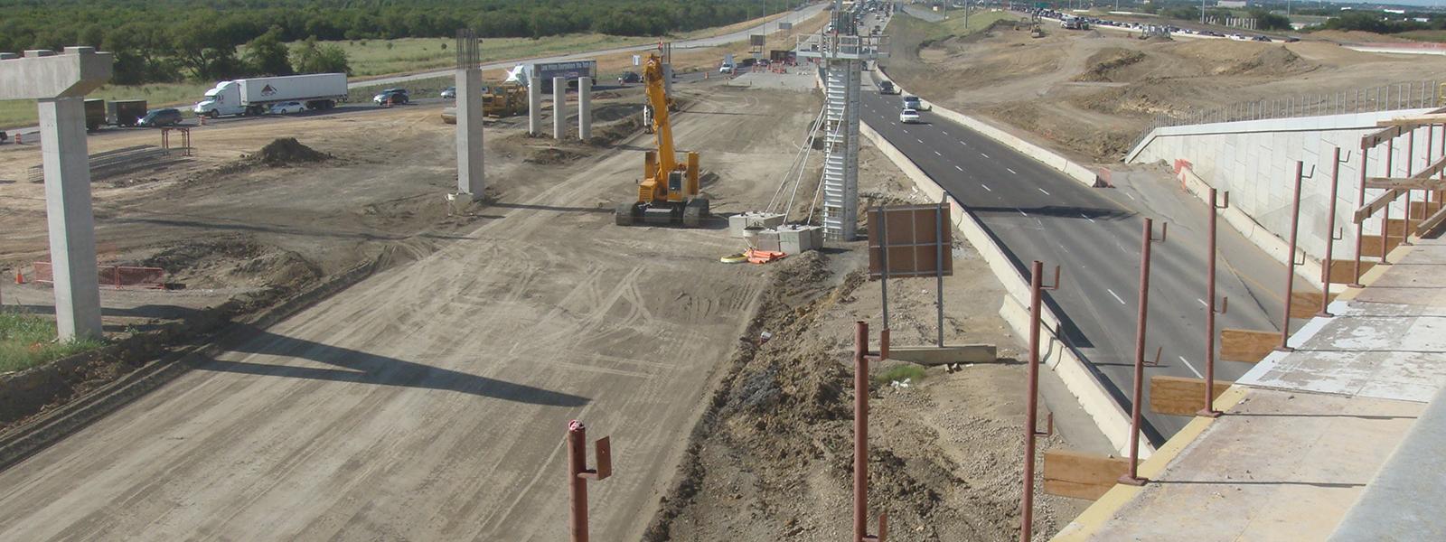Dallas, Texas Highway Construction