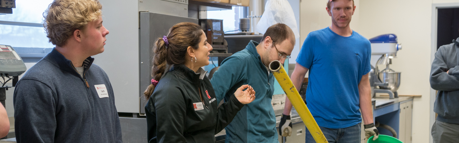 Admitted Student Day lab tour