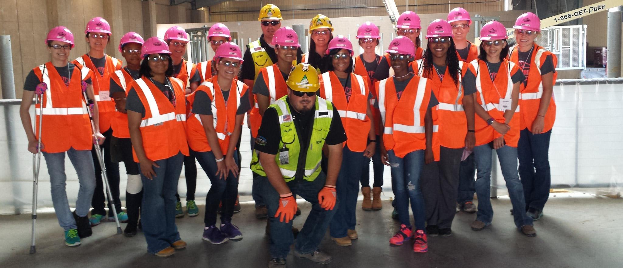 Durham School Pink Hardhat Days