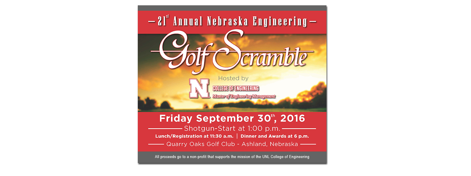 College of Engineering Golf Scramble