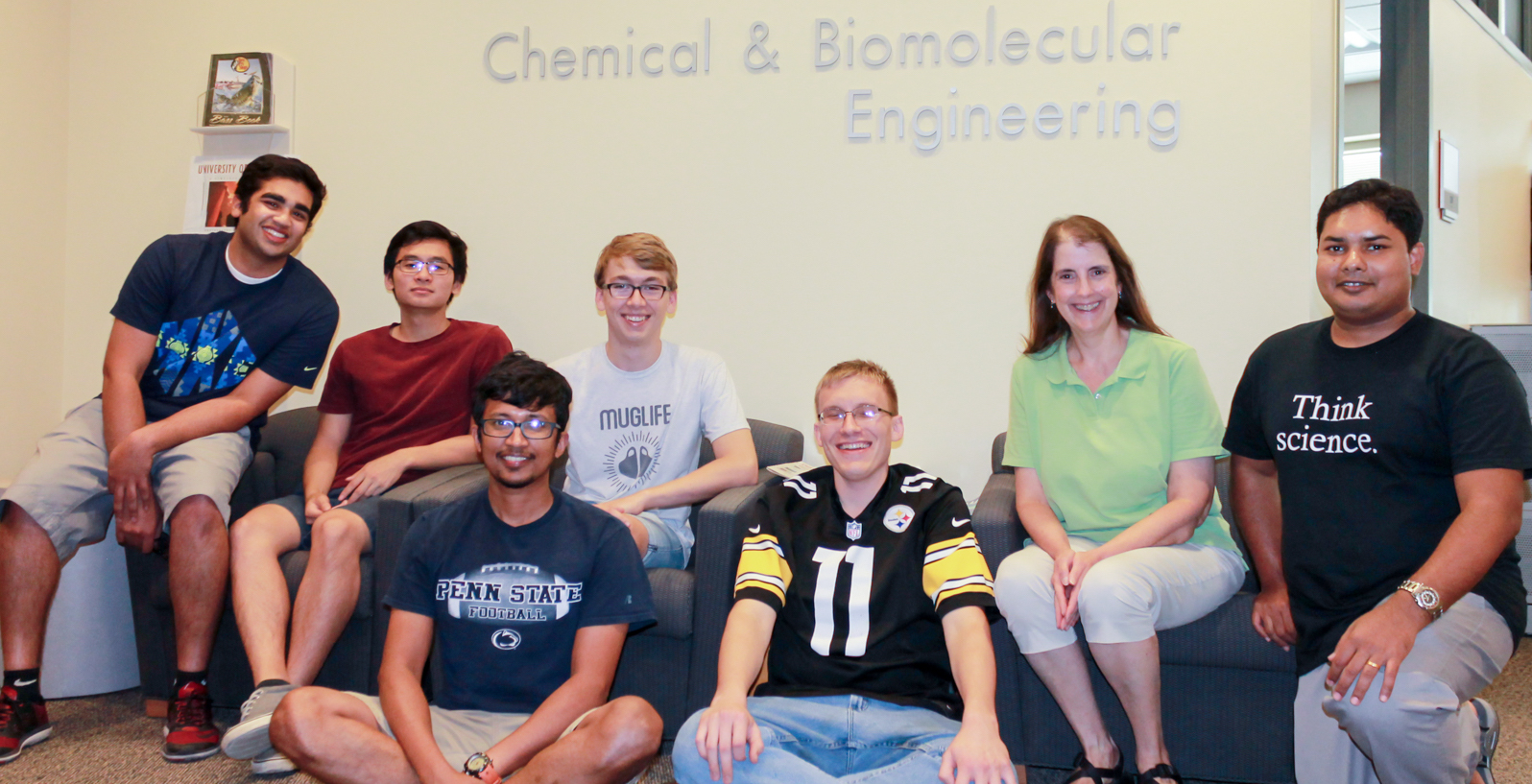 Group members of the Systems and Synthetic Biology Lab