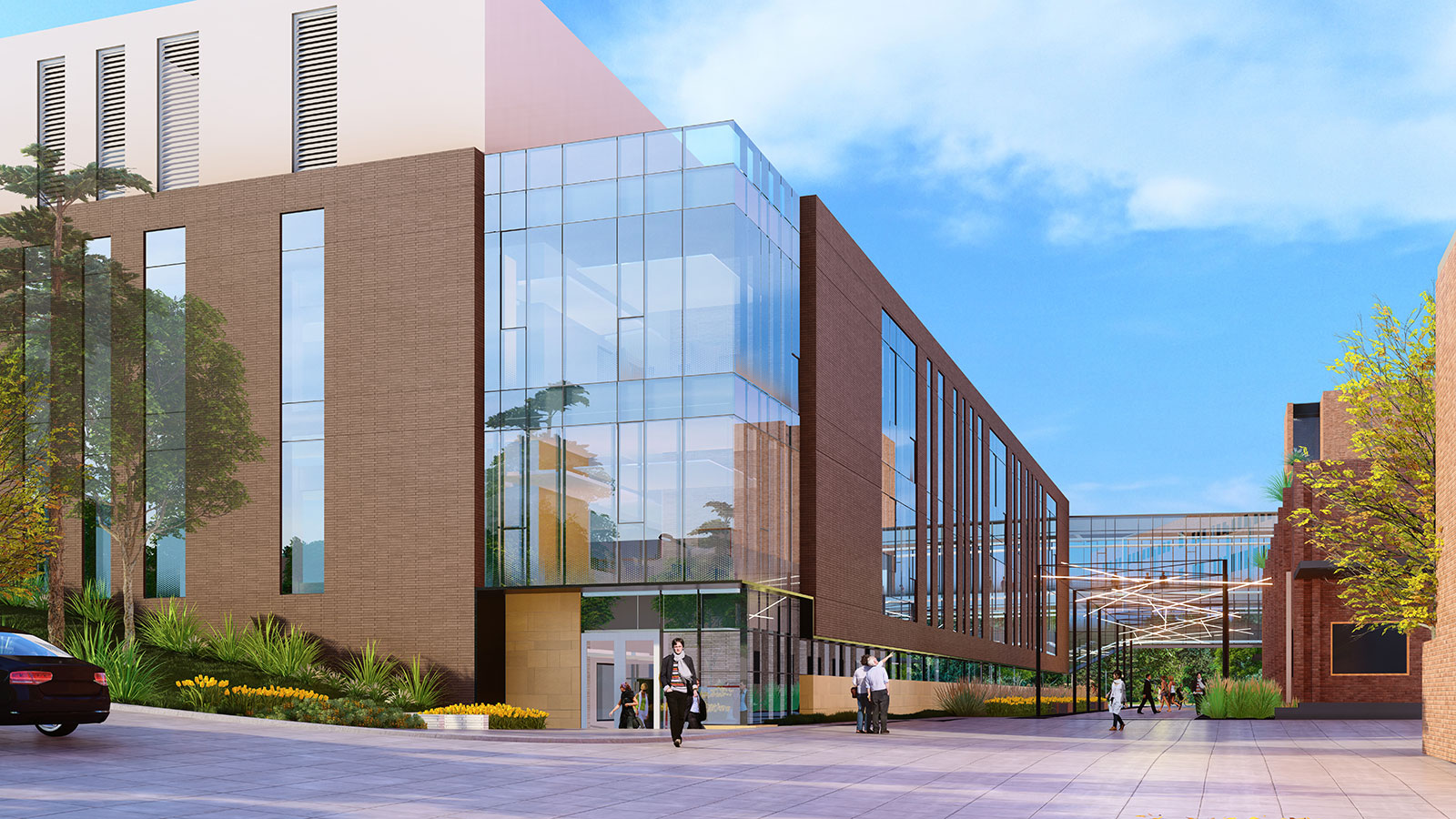 "Phase 1 Rendering: The new ""Link"" / Scott Engineering Center Renovation"