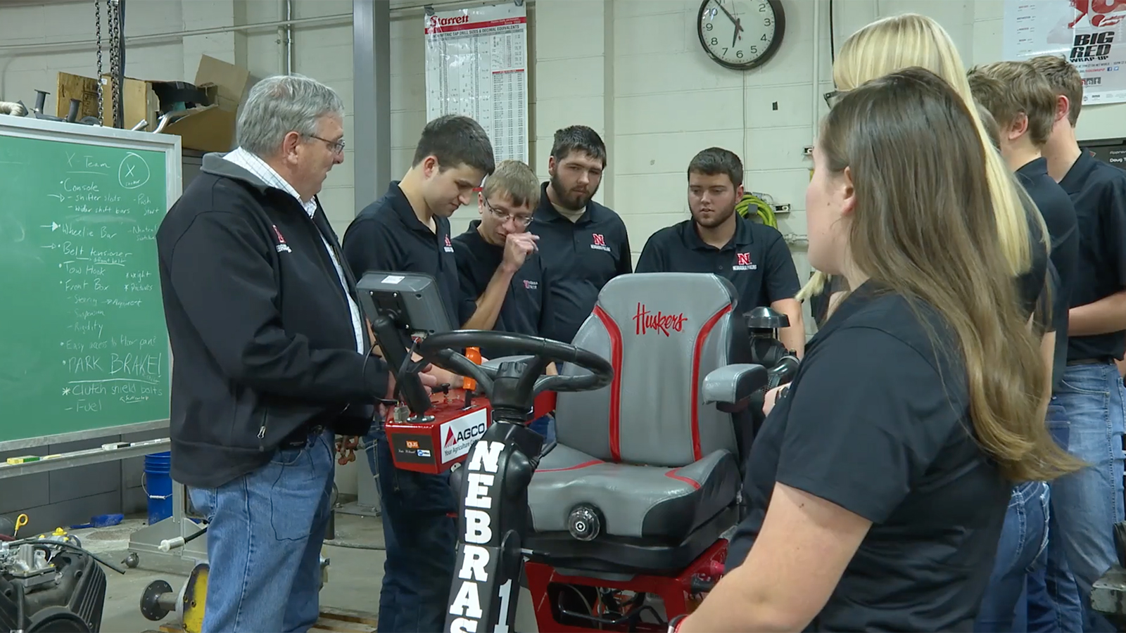Nebraska quarter-scale tractor team works to repeat as international champions in 2020.