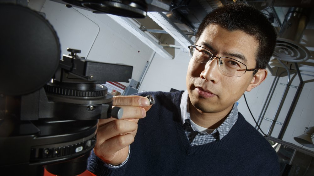 Ruigio Yang, assistant professor of mechanical and materials engineering