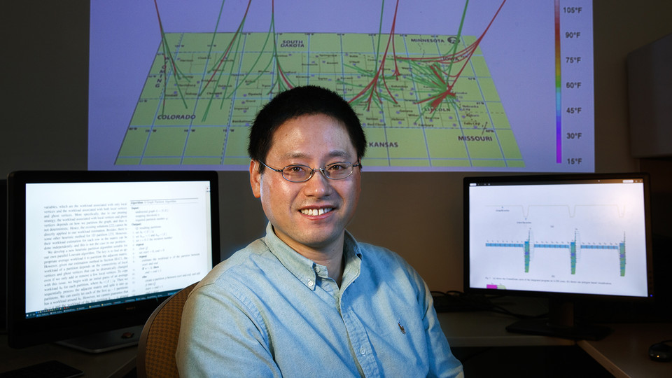 Hongfeng Yu, associate professor of computer science and engineering, has been named interim director of the Holland Computing Center.