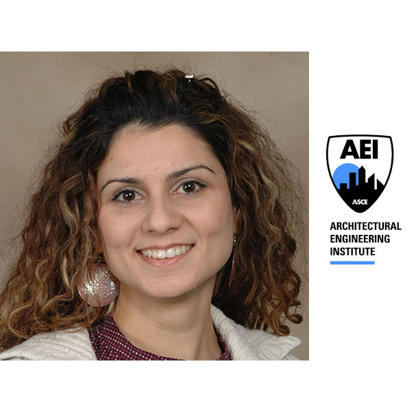 Ece Erdogmus, professor of architectural engineering and associate director of The Durham School of Architectural Engineering and Construction, received the 2019 AEI Outstanding AE Educator Award.