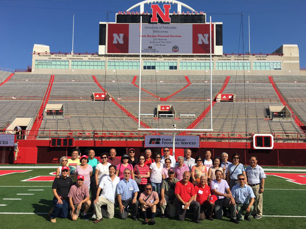Homecoming 2017 welcomed back nearly 40 alumni during the College of Engineering Asian Alumni Reunion. They took in all the sights and sounds of campus including Memorial Stadium.