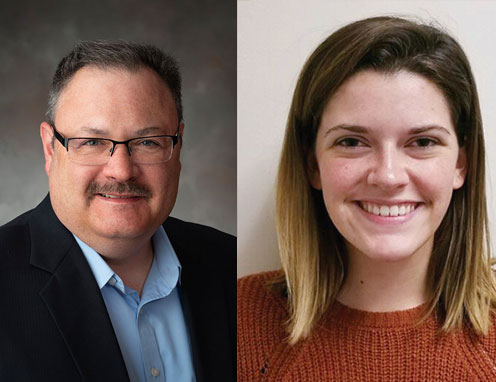 Bob Williams and Brittlin Hoge of the Nebraska Industrial Assessment Center (NIAC)