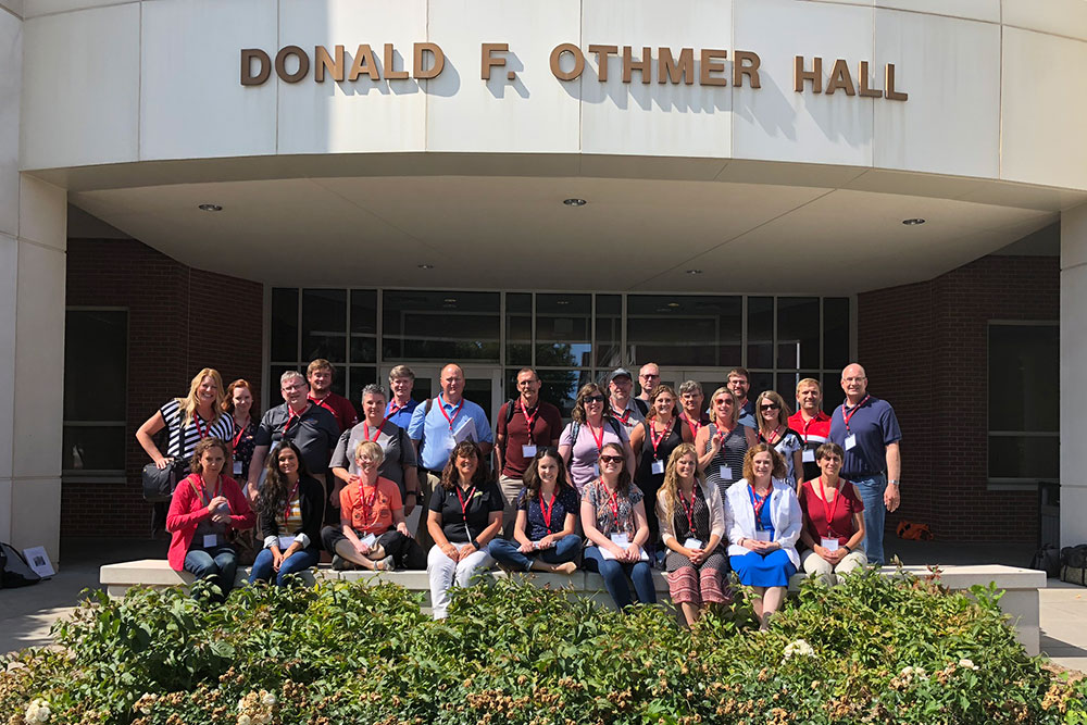Twenty-eight high school STEM teachers from across Nebraska attended the Chemical Engineering Secondary Education STEM Workshop on June 28.