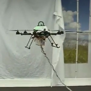 quadrocopter with hd camera