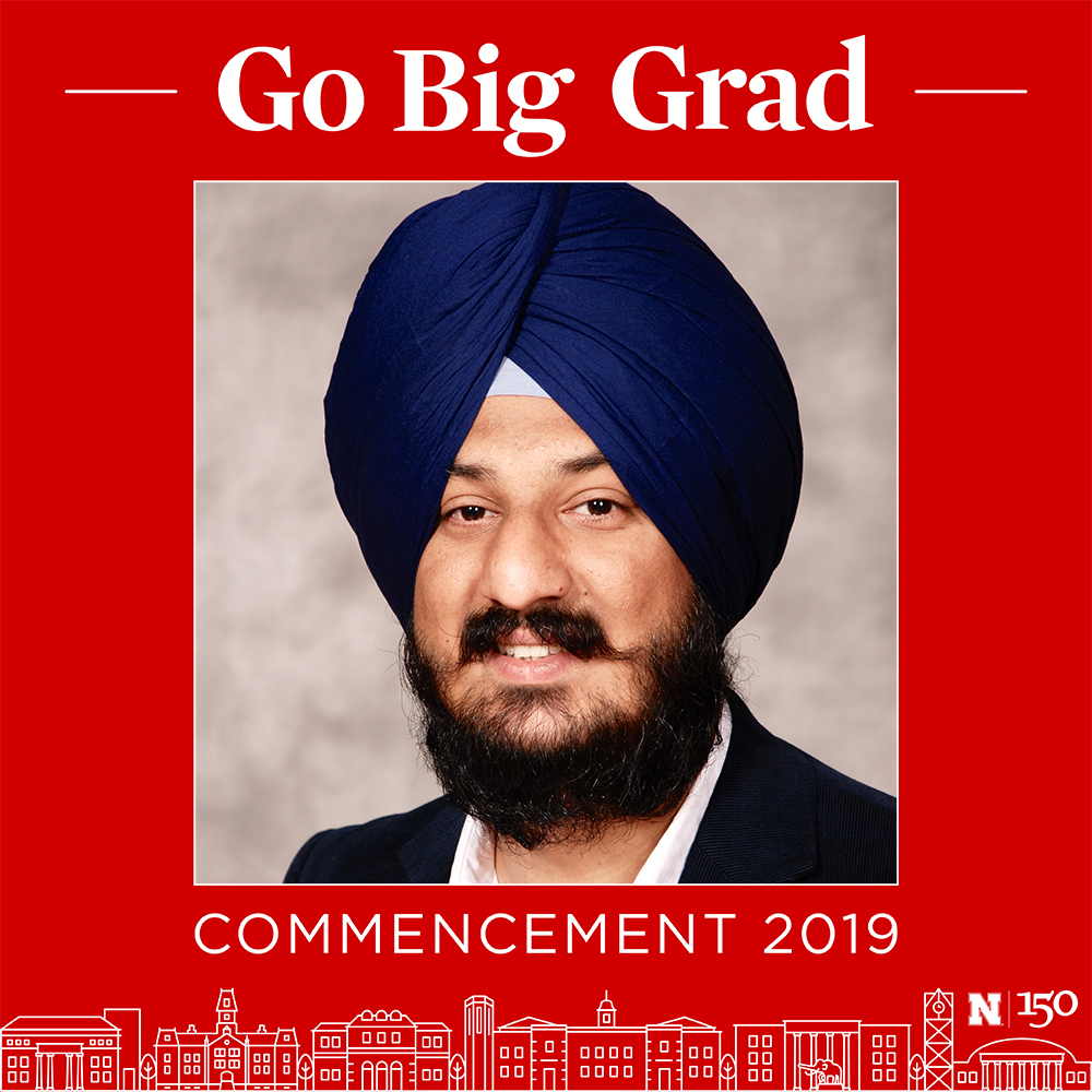 Meetpal Kukal is graduating with a Ph.D. in Biological Systems Engineering.