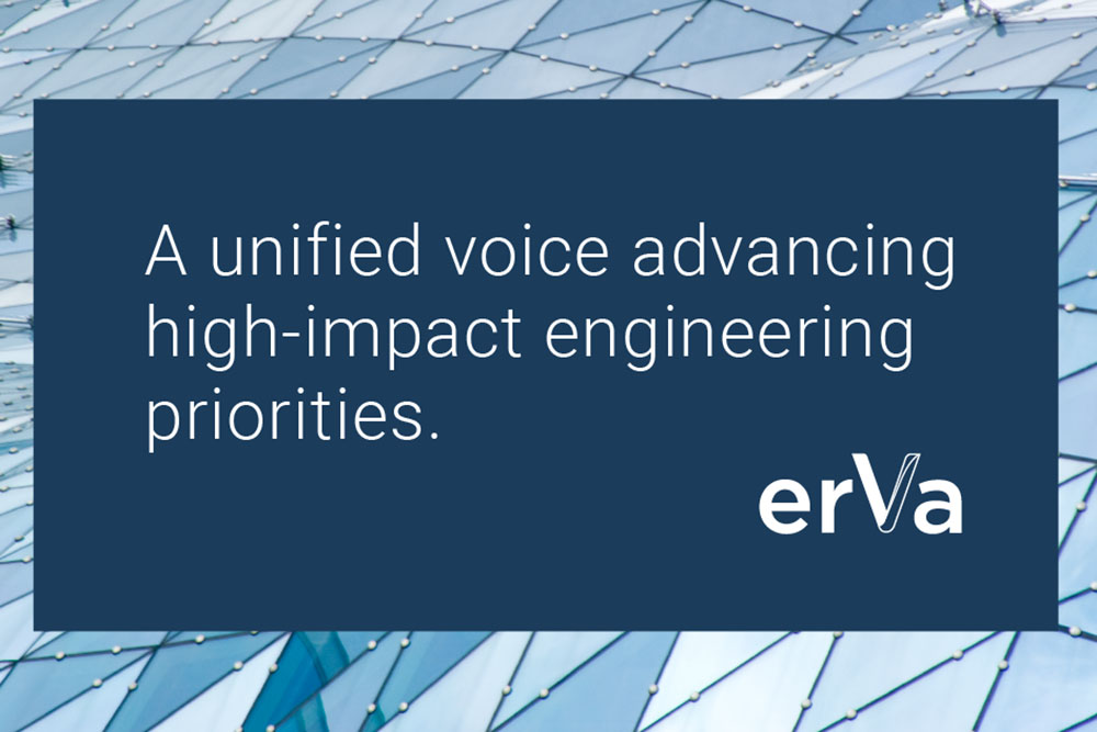 Established via a cooperative agreement with the National Science Foundation, the Engineering Research Visioning Alliance (ERVA) was officially launched on April 7, 2021. The first engineering research visioning alliance of its kind, ERVA is a diverse, inclusive and engaged partnership that enables an array of voices to impact national research priorities.