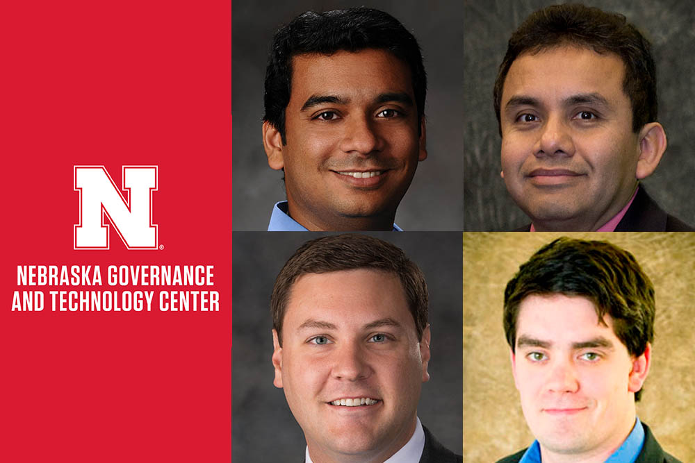 Srivatsan Kidambi, Francisco Munoz-Arriola, Michael Sealy and Cody Stolle are among the inaugural cohort of NGTC Faculty Fellows.