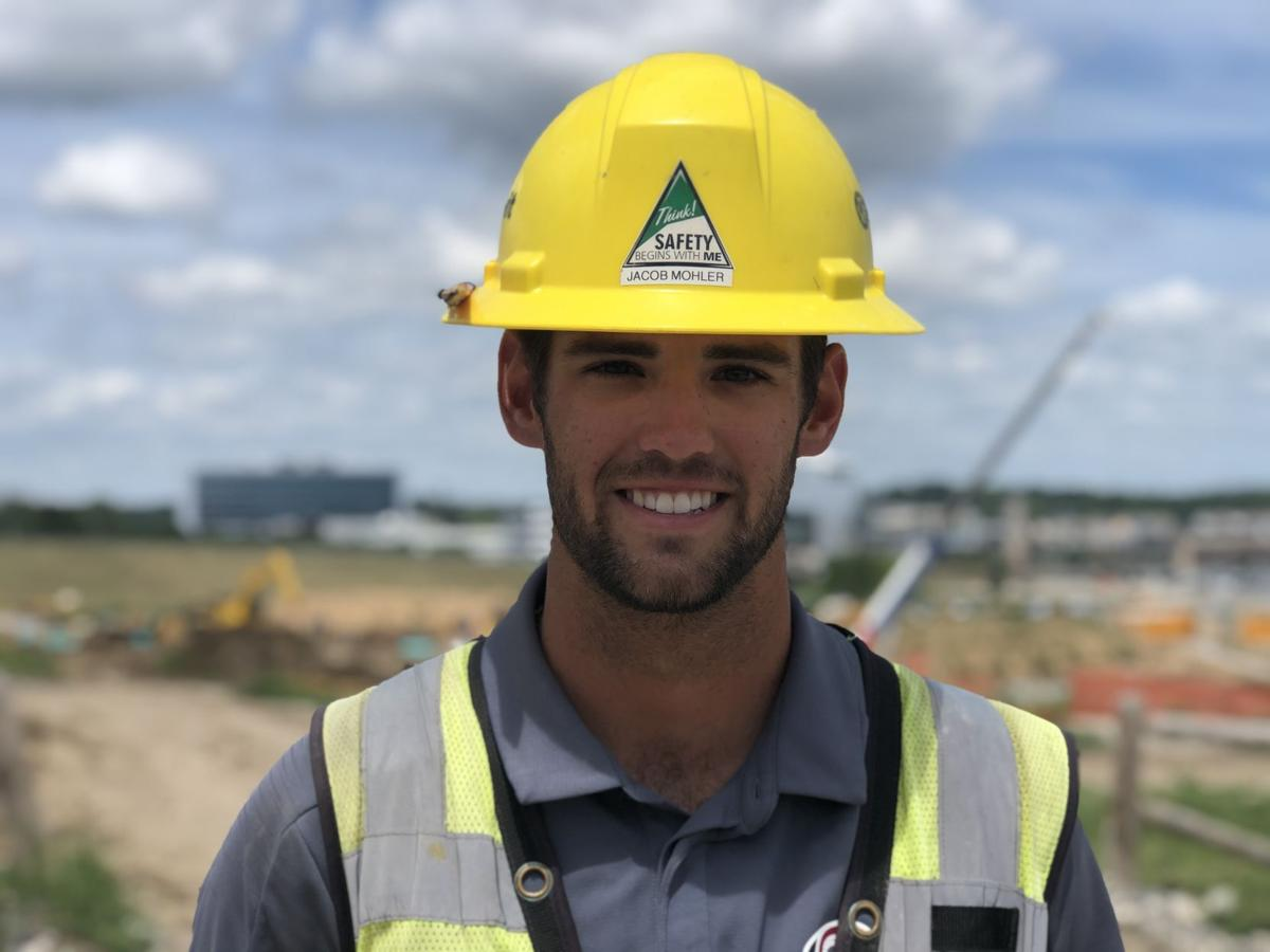 Jacob Mohler, a senior in civil and environmental engineering, is a summer intern with Kiewit and a pitcher on the University of Nebraska Omaha baseball team.
