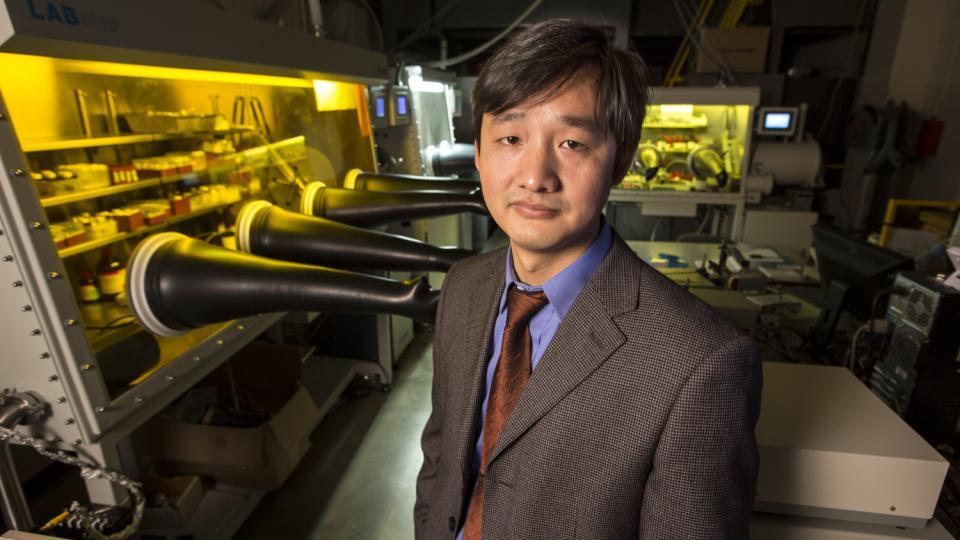 Jinsong Huang, assistant professor of mechanical engineering