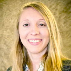Jennifer Schmidt, research assistant professor at UNL's Midwest Roadside Safety Facility.