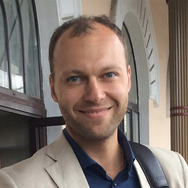 Vitaly Alexandrov, assistant professor of chemical and biomolecular engineering.