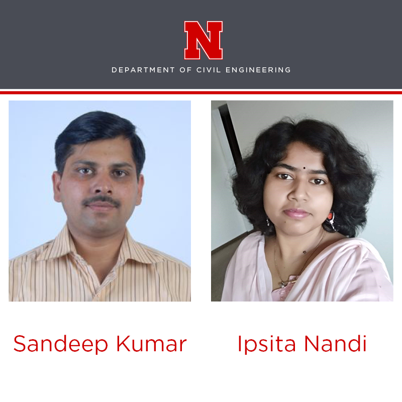 WARI Fellows Sandeep Kumar and Ipsita Nandi