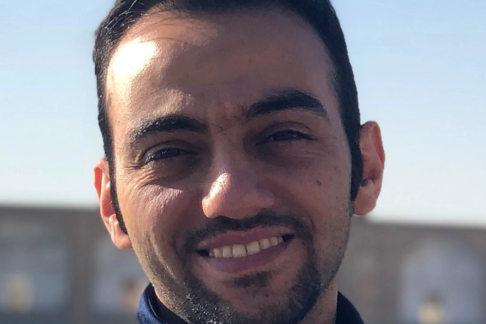 Amir Monemian Esfahani, doctoral student in mechanical and materials engineering.