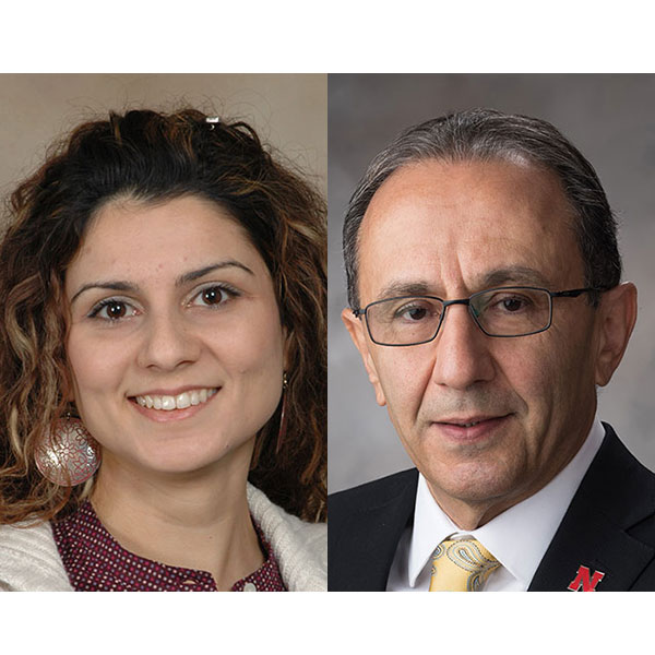 Ece Erdogmus, professor of architectural engineering and associate director of architectural engineering in The Durham School of Architectural Engineering and Construction; and Hossein Noureddini, professor and chair of chemical and biomolecular engineering.