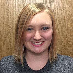 Brenna Boyd, a junior in architectural engineering.