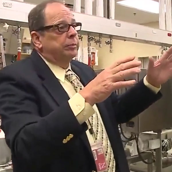 Wallace Buchholz, BPDF director and research professor of chemical and biomolecular engineering (KETV)