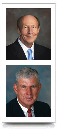 Top: Bob Brightfelt, Below: Ken Jones