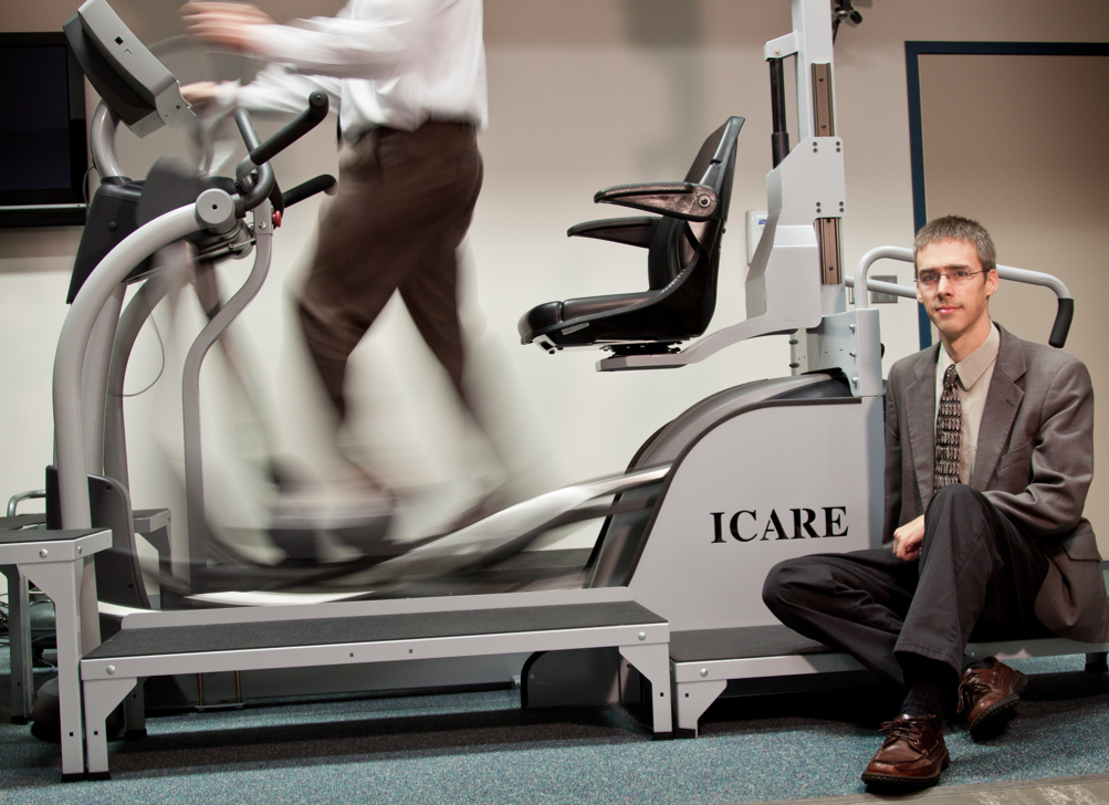 The ICARE equipment is going to market. UNL professor Carl Nelson helped Madonna Rehabilitation Hospital on the research.