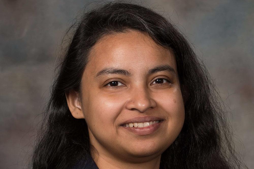Shudipto Dishari, assistant professor of chemical and bimolecular engineering.
