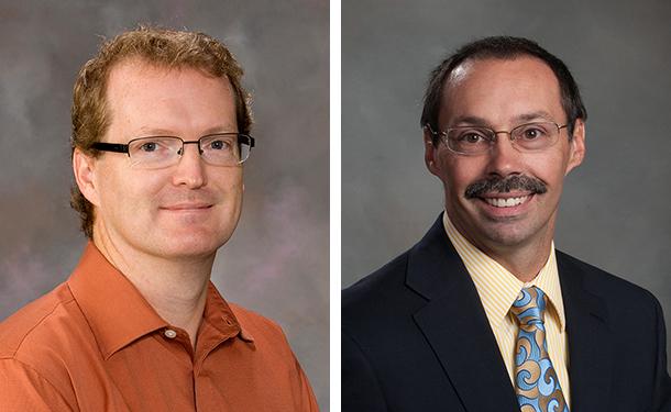 From left: Matt Dwyer; Steve Goddard
