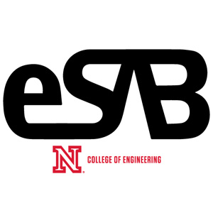 Three Esab Members Painting National Board Husker Red