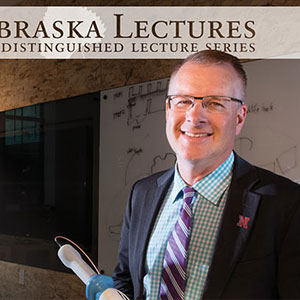 Shane Farritor, Lederer Professor of Engineering and a professor of mechanical and materials engineering, will give a free public lecture on Oct. 27 at Nebraska Innovation Campus.