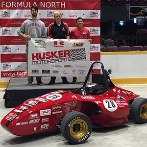 The Husker Motorsports team finished ninth at the recent Formula SAE event in Barrie, Ontario. It was the best finish in club history.