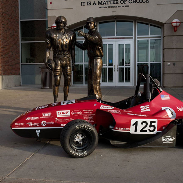 The Husker Motorsports Formula SAE car will be among the more than 100 from universities around the world competing this week at the annual season-ending event at Lincoln Airpark.