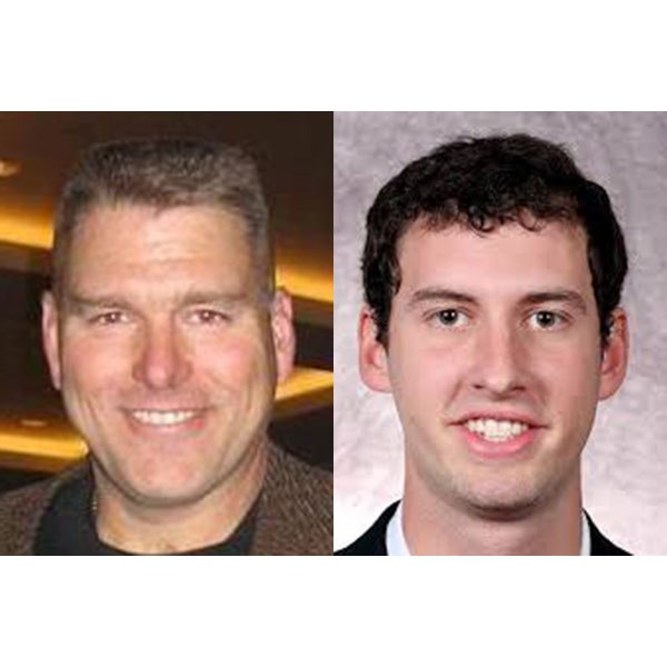 Construction management alumni Mark Behning (left) and Alex Henery have been chosen to be part of the 2019 induction class for the Nebraska Football Hall of Fame.