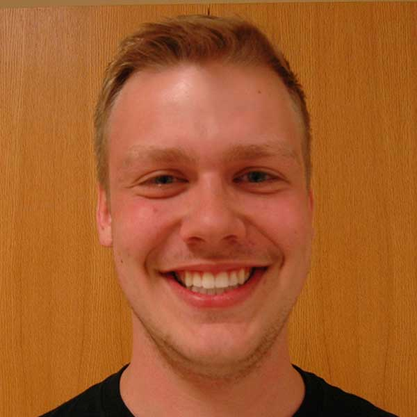 Scott Schenkelberg, a senior mechanical engineering major, is among the 20 UNL students chosen as Homecoming royalty finalists.