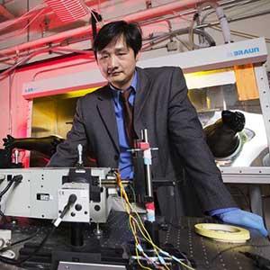 Jinsong Huang, a Susan J. Rosowski associate professor of mechanical and materials engineering.